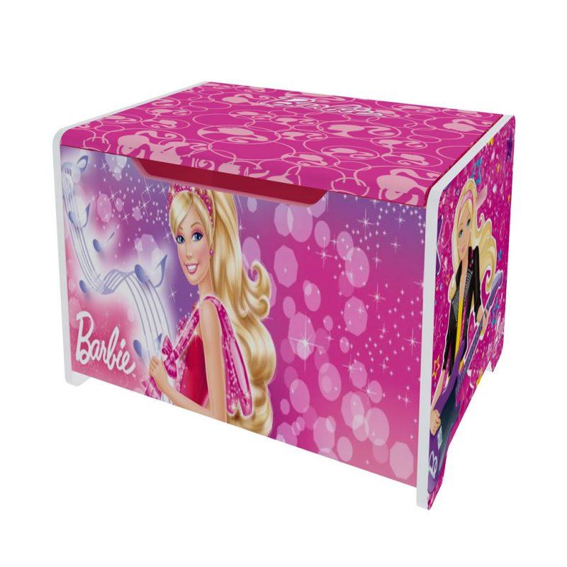 Caja acolchada Barbie con guarda muñecas